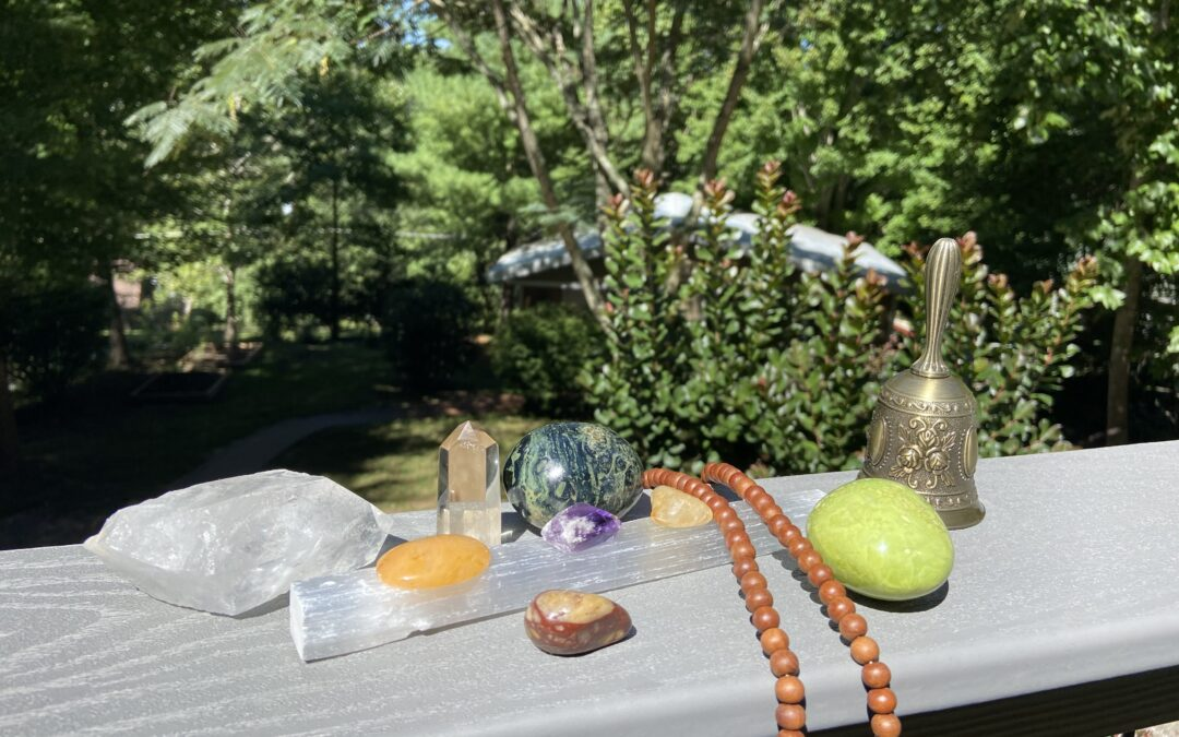 Setting the Tone and Intention with Stones – Finding balance in the simplest way